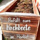 Wie werden Hochbeete befüllt   Haus und Beet