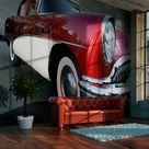 Fototapete Amerikanisches Luxusauto 309 cm x 400 cm