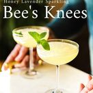 How to Make a Honey Lavender Sparkling Bee's Knees