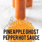 Pineapple Ghost Pepper Hot Sauce