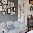 Wohnzimmer-Bilderwand: Skandinavisch, schlicht und hygge - Lavendelblog