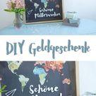 DIY Geldgeschenk zur Hochzeit schön verpacken - kreativfieber