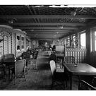 A4 Poster. Cafe Parisien, RMS Olympic BL24990_041