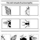 Cut And Paste Worksheets FREE Printable - Planes & Balloons