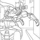 Kleurplaat van Batman