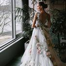 Hochzeitskleid von Inga Ezergale Design Rose Collection | Etsy Deutschland