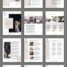 Workbook eBook Duo Canva Template