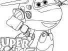 Super Wings Jett pages to color for free - Free Kids Coloring Pages Printable