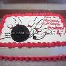 Bowling Birthday Cakes