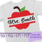 Teacher, Teacher Gifts, Teacher Svg, Apple Svg, Teacher Name Sign, Teacher svg images, teacher svg designs, apple name svg, school svg