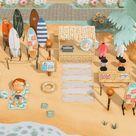 A lil seaside surf shop 🏄♀️
