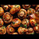 Recept: knoflookchampignons
