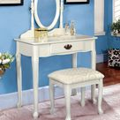 White Vanity Set