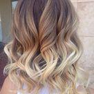 Shoulder Length Ombre Hair