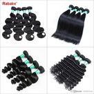 3 Or 4 Brazilian Virgin Human Hair Weave Bundles Straight Body Loose Deep Wave Curly Cheap 8A Peruvian Raw Indian Hair Extensions Wholesale From Rabakehair, $6.82   DHgate.Com