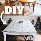 8 Möglichkeiten, einen alten Esstisch zu drehen - # zu # Möglichkeiten zu essen ... Check mor...