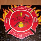 Fire Fighter Cake