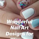 Wonderful Nail Art Designs for Women