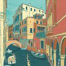 Venice Art Print   Venice, Italy   Venice Wall Art   Venice Print   Venice Poster   Italy Art   Ital