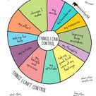 Things I Can and Can't Control Poster Teachers, Parents, Great for Starting Convos with Kids