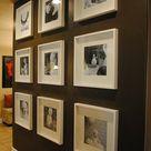 55 ausgefallene Bilderwand und Fotowand Ideen   ArchZine