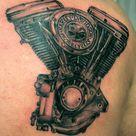 Engine Tattoo