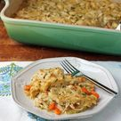 Chicken and Dumplings Casserole - Emily Bites