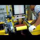 Startup of 12.5mm 3 layer Labtech Engineering Blown Film Line