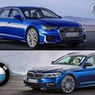 2019 Audi A6 avant vs 2018 BMW 5 Series Touring   INTERIOR EXTERIOR