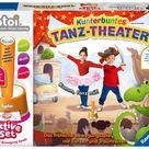 Ravensburger tiptoi® Spiel 00073, ACTIVE Set Kunterbuntes Tanz Theater, Bewegungsspiel ab 3 Jahren