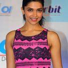 Deepika Padukone in Pink Dress