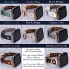 Fitbit Versa 3 2 1 Bands Women Leather Fitbit Sense Strap   Etsy
