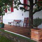 Natursteinplatten für Garten-Terrasse selbst verlegen