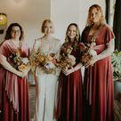 Fall Bridesmaid Dresses In Velvet   Dev Stroud Dallas Wedding Photographer