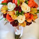 50 Fall Wedding Bouquets for Autumn Brides