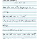 Printable Handwriting Worksheets ⭐ Manuscript And Cursive Worksheets