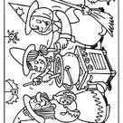 Kleurplaat Heksenfeest kleurplaat