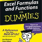 Excel Formulas and Functions For Dummies For Dummies Computers
