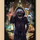 Hot Japan Anime Cosplay Tokyo Ghoul Ken Home Decor Wall Scroll 2130Cm 011 #ebay #Collectibles