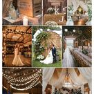 25 Treacly and Romantic Rustic Barn Wedding Decor Ideas