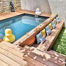 Mini Piscine -  Vous avez un eptit extérieur et rêver d'une piscine?  Laure,...