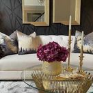 Living Room Glam Styling Tips