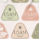 Loam roastery logo and brand identity design by Fivestar Branding