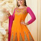 Kareena Kapoor in orange lehenga dress