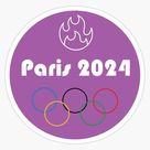 Paris 2024 Olympic Games Sticker