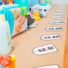 The Easiest 'Price is Right Baby Shower Game' Template