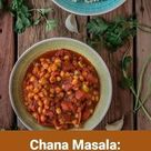 Chana Masala: Indisches Kichererbsen-Tomaten-Curry