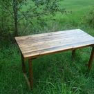 Rustic Wood Tables