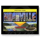 Greetings From Knoxville Tennessee Postcard Zazzle Com With