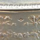 Antique French silver snuff box, peace doves